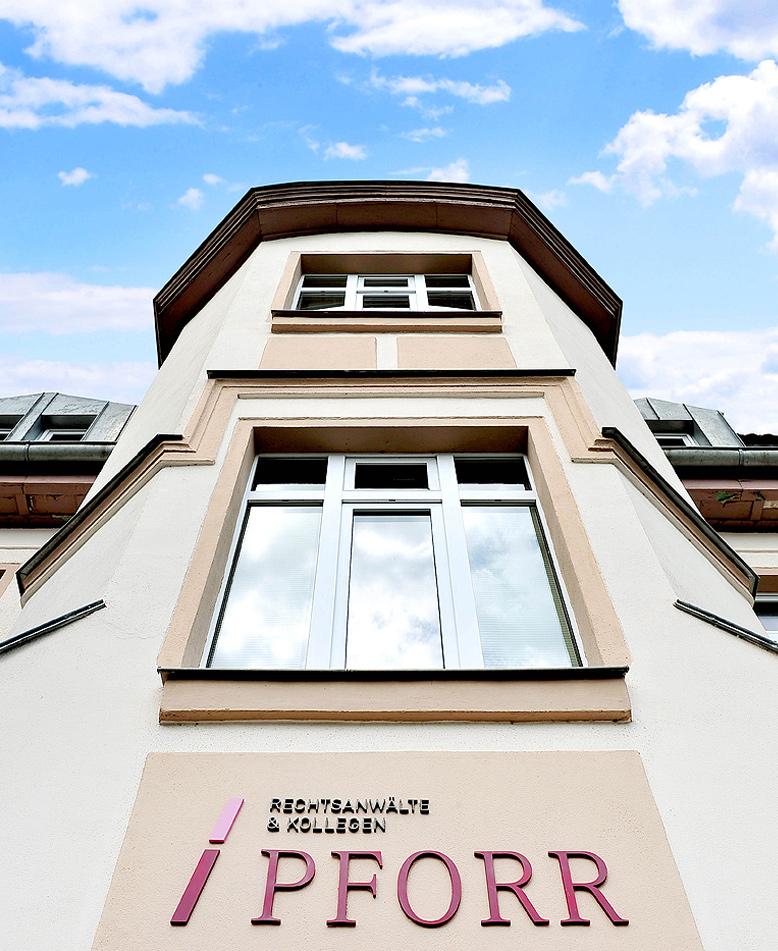 Gebäude, Langenfelder Straße 14, Bad Salzungen – Rechtsanwaltskanzlei Pforr